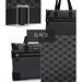 I´Praves Premium L black edition handbag collage