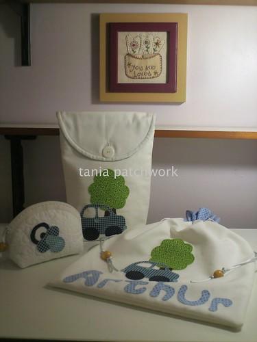 Kit  Carrinho by tania patchwork