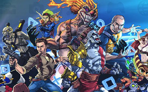 PlayStation All-Stars Battle Royale - How Kratos and Radec Play Out