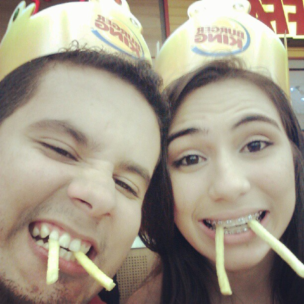 juliana leite e lucas lopes burger king monster's