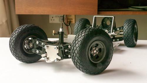 LANE Boys RC's Tamiya XR311 build 7740411214_242a3d6a66