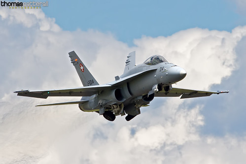 Swiss Air Force F/A18C Hornet