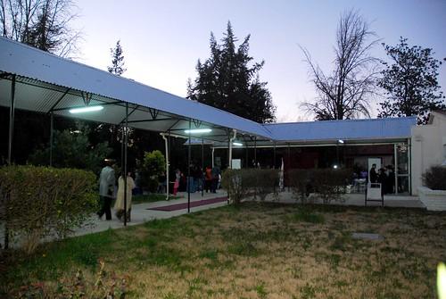 Inauguración del patio techado del colegio Barbara Kast