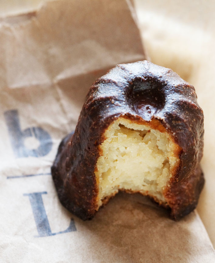 canelé from boulettes larder in san francisco