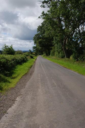 a quite road