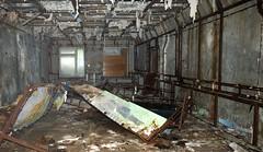 Chernobyl Duga 'Steel Yard' Over-the-Horizon EW Radar, Command Center