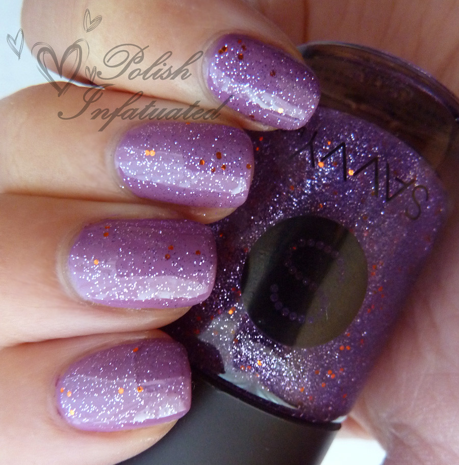 uptown girl layered with purple viking3