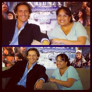 With Charles Mesure 2004