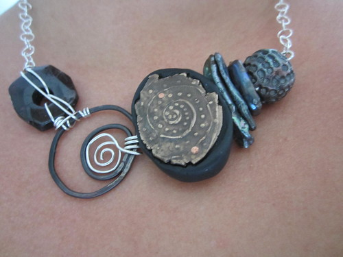 Ancient Spiral Necklace