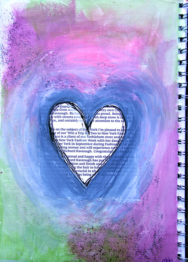 Art Journal Page #9