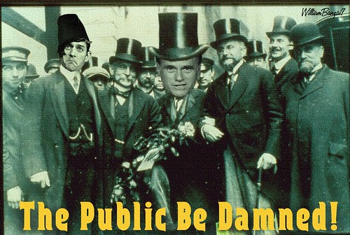 THE PUBLIC BE DAMNED (Updated) by Colonel Flick