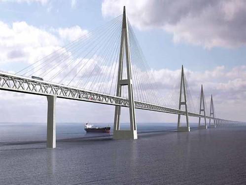 Fehmarn Belt Bridge (Baltic Sea, Germany and Denmark)bridges (2)