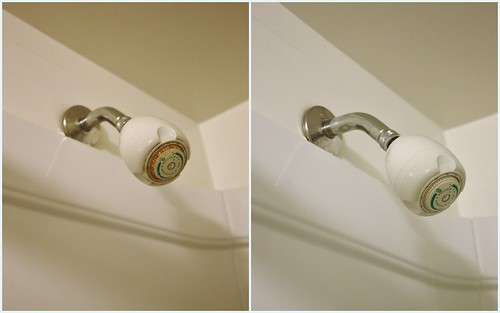 how to clean mineral deposits from shower head