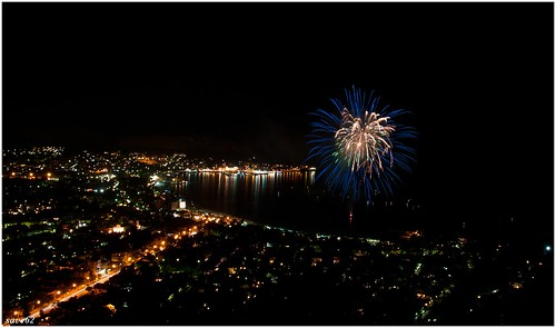 fireworks in mondello ( pa )