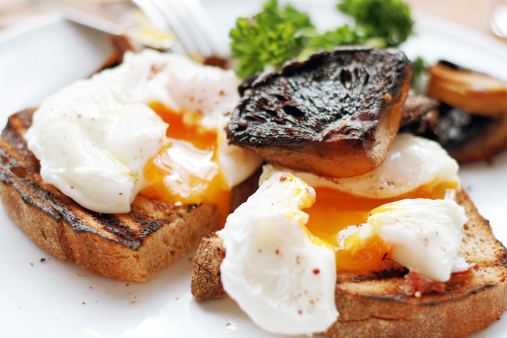 mushroom breakfast