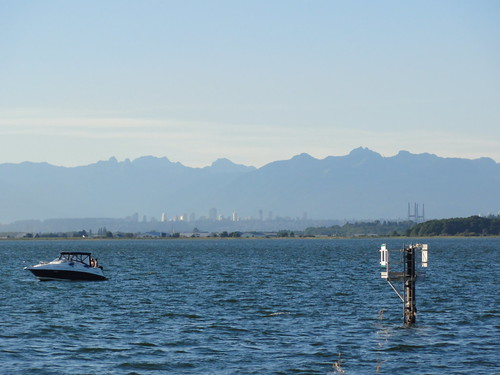 View to Vancouver from Crescent Beach