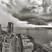 Big cloud over NY Harbor. by Jay Fine
