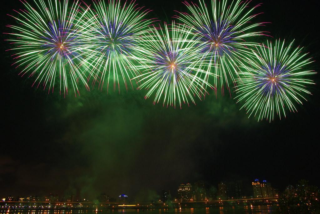 煙火初體驗-2012大稻埕煙火節