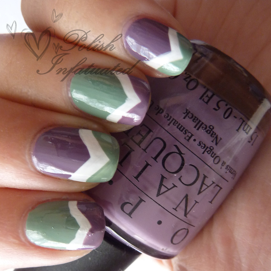 green, white & purple chevron2