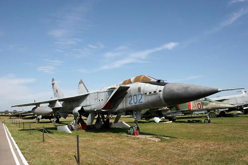 Mikoyan-Gurevich MiG-31 202 blue