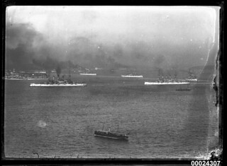 Visit of the Great White Fleet to Sydney Harbour