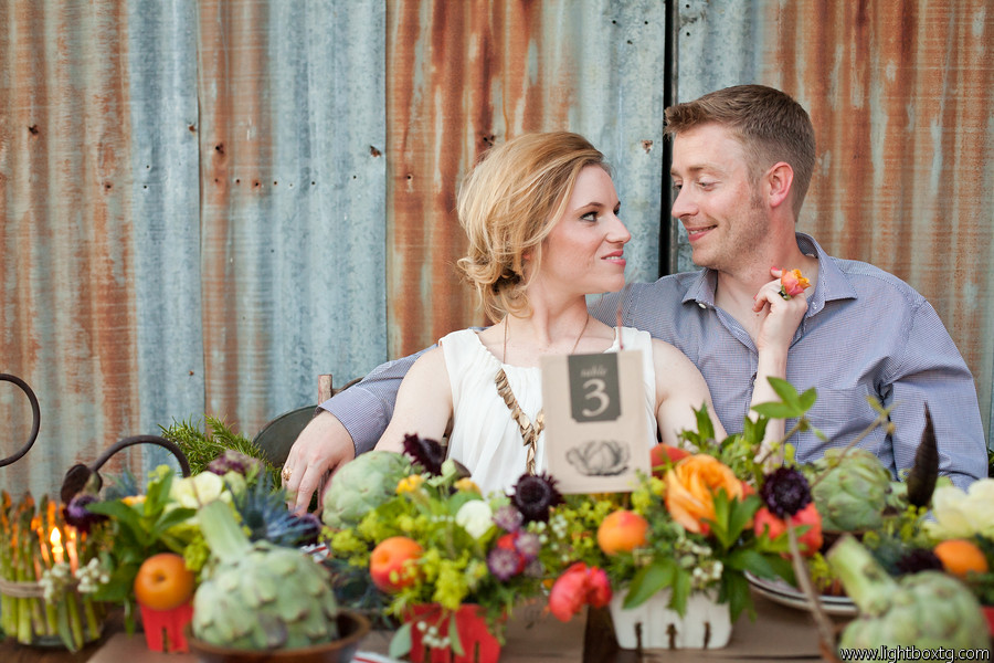 farmers market wedding table number