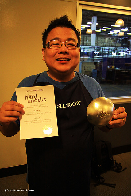 royal selangor founder hard knocks certification
