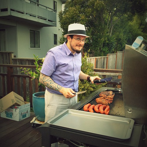 Day 268 of Project 365: Grillmaster D