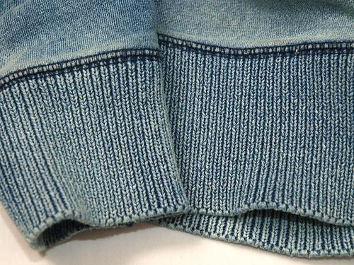 RRL / Indigo Shawll-Collar Fleece Pullover