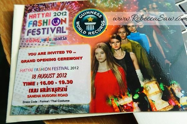hat yai fashion festival 2012