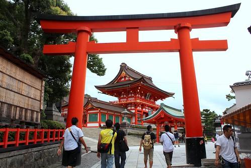 Fushimi Inari Taisha entrance
