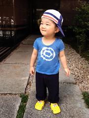 朝散歩 (2012/8/22)