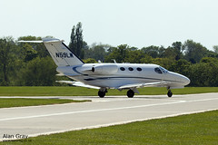 N59LW CESSNA 510 CITATION MUSTANG 5100213 120527 - AeroExpo-Sywell - Alan Gray -IMG_0410