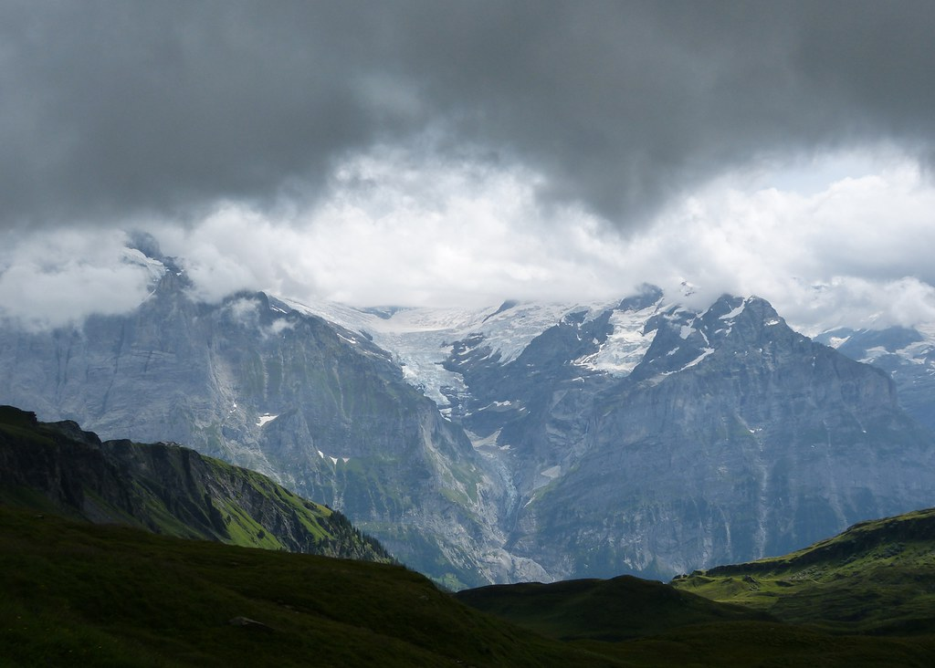Upper Grindelwald Glacier, Switzerland