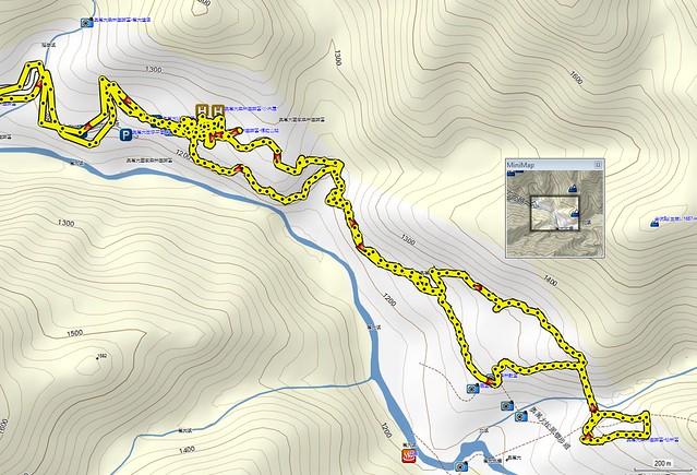 2011-12-25奧萬大國家森林遊樂區Map