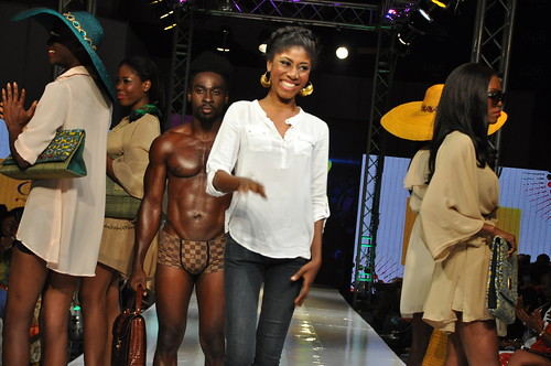 Diva Delicious bags and hats at Tigo Glitz Africa Fashion Week