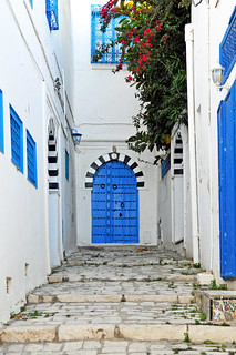 Tunisia-3027 - Blue Doors Everywhere