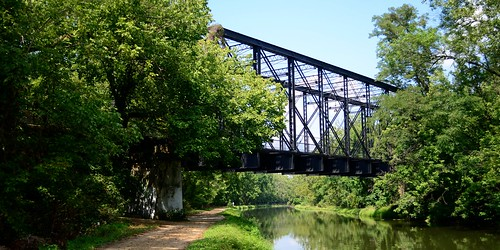 The Arizona Avenue Railway Bridge over the C&O Canal