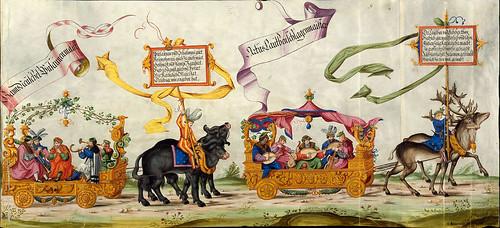 009-Triunfo del Emperador Maximiliano I…1700-Copyright Biblioteca Nacional de España