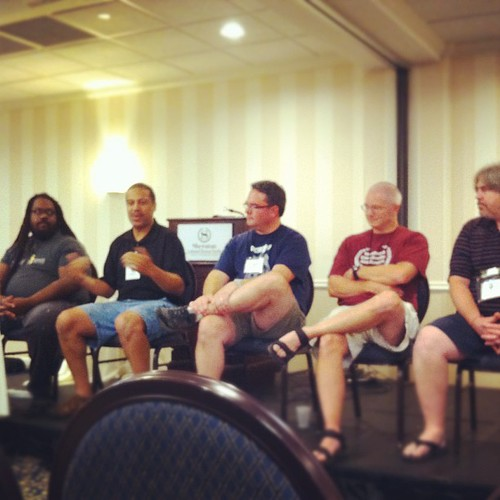 the dads panel at #neuc #northeastunschoolingconference #unschooling
