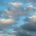 Cloudy sky by D Coetzee