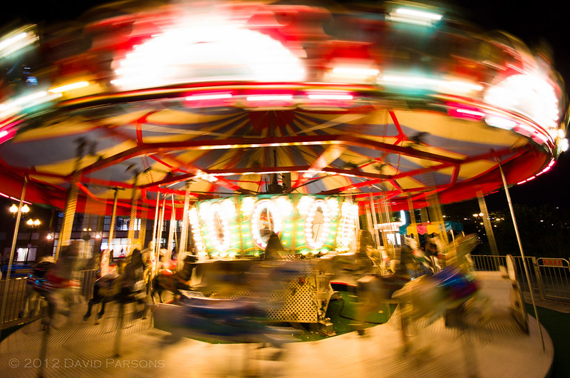 Rose Kennedy Greenway - Carousel