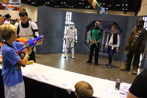 Charity NERF Shooting - Star Wars Celebration VI