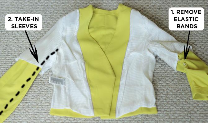 yellow blazer alt