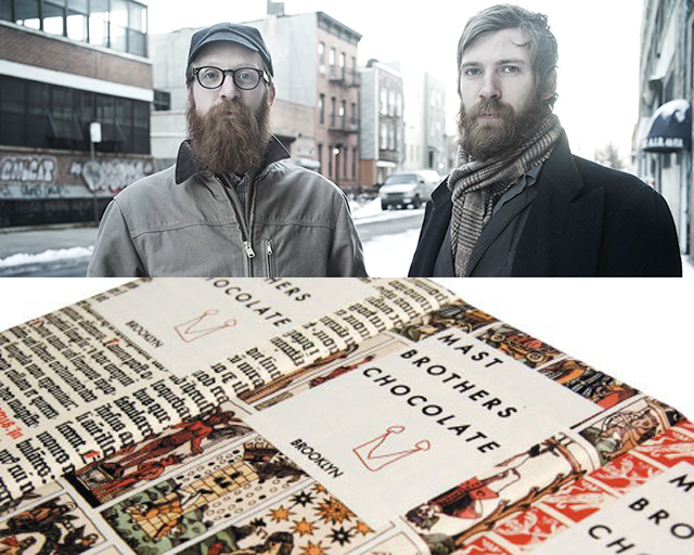 Brooklyn's first bean-to-bar chocolate company, Mast Brothers Chocolate. Top photo by Tuukka Koski.