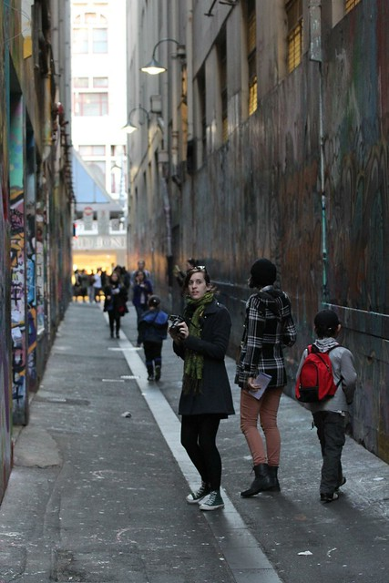 Tourists -Melbourne Street Art