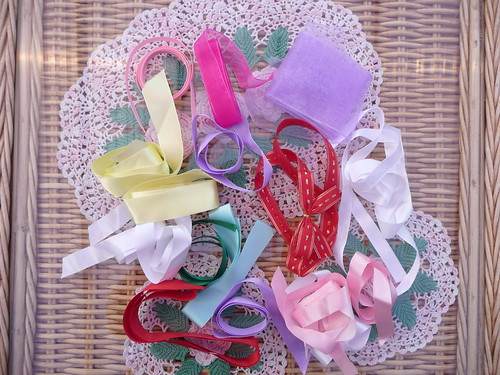 Kate (Anne's Mother) Rowheath House sent SIBOL some ribbons. How kind!