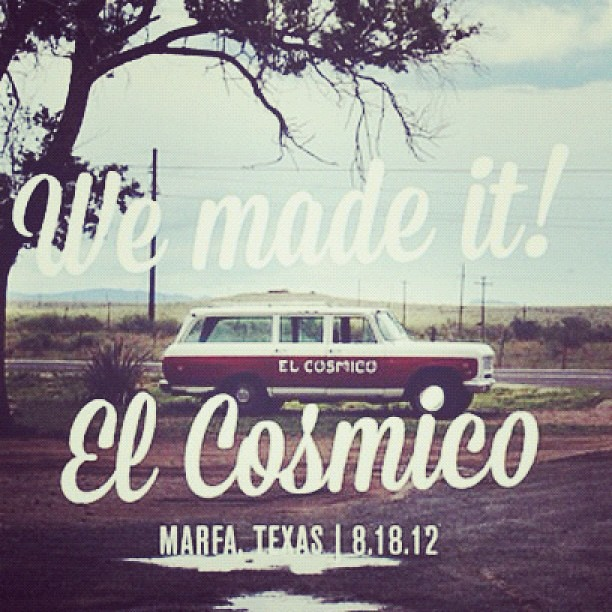 Watch us put a tent together in a storm! On the blog today! #elcosmico #marfa #oocomg #sistersister #roadtrip #storm #applebueno