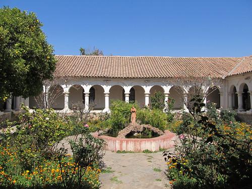 Sucre: el Convento de la Recoleta et ses 4 patios