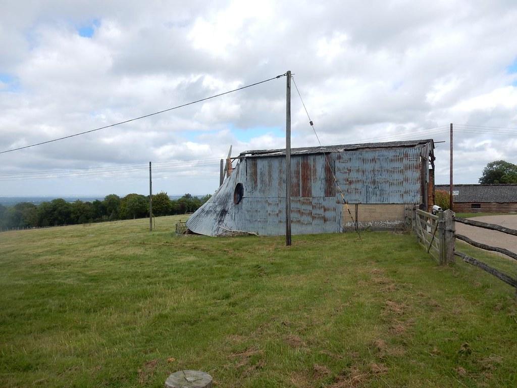 decrepit shed Guildford to Horsley
